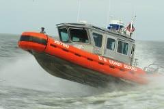 Coast Guard units train on Lake Pontchartrain