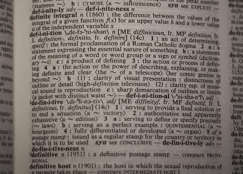 Definition of definition by dustin.askins