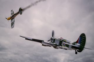 Spitfire and Bf109 Dogfight (Dunkirk)